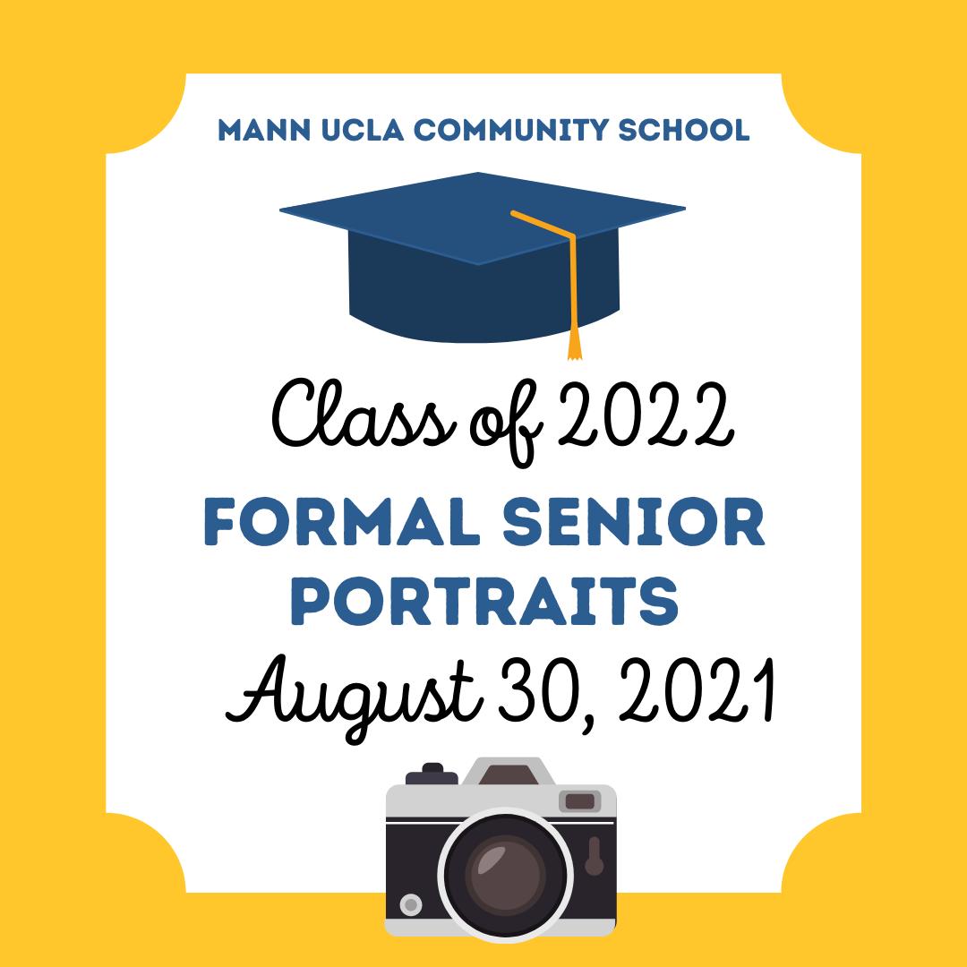 2021-2022 Senior Portraits: Grade 12