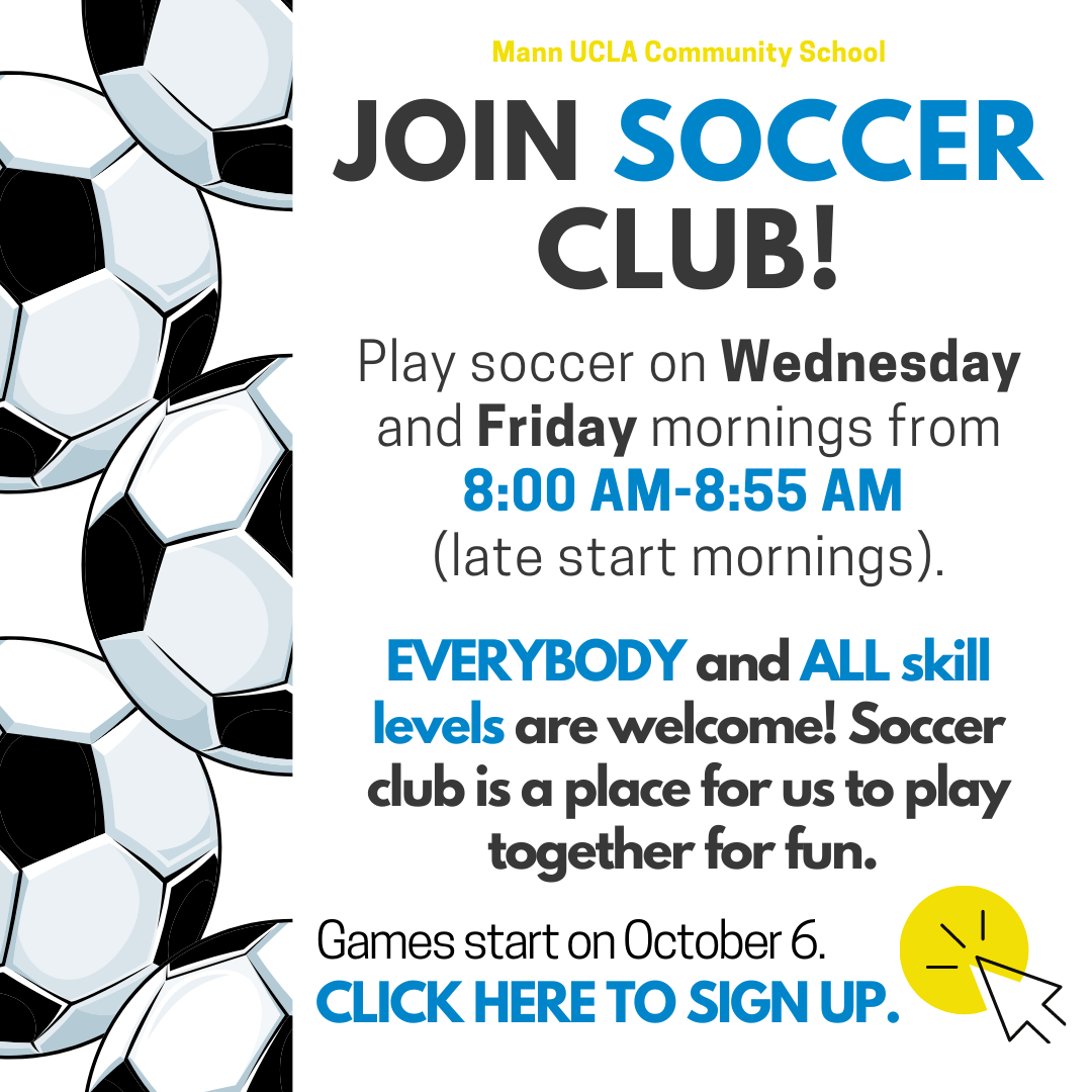 Join Soccer Club!