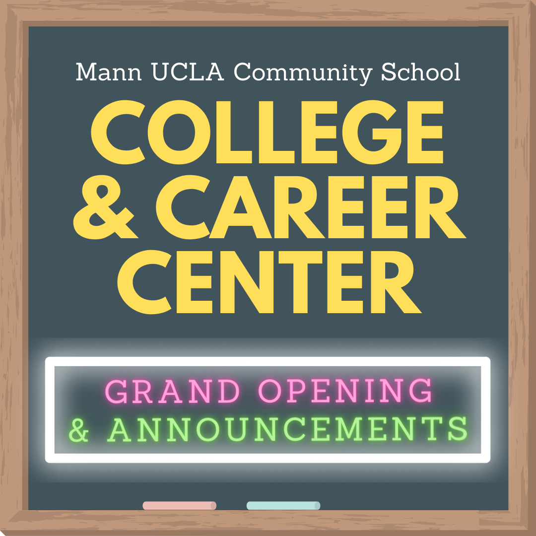 College and Career Center Grand (Re)Opening!